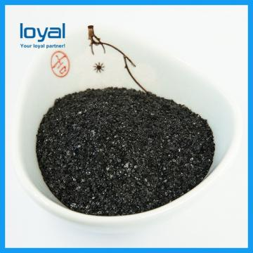 Factory Supply Organic Fertilizer with NPK Black Particles Humic Acid