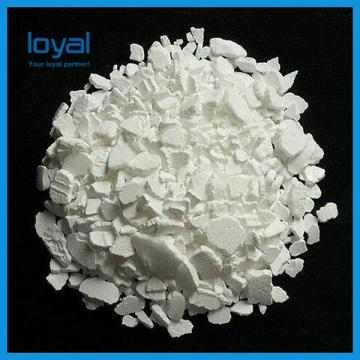 Industrial Grade Inorganic Chemical Products , White Granular Anhydrous Calcium Chloride